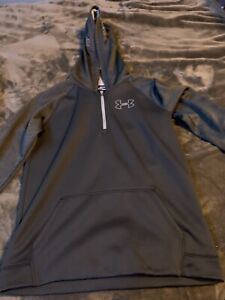 boys under armour Quaterzip Hoodie Youth XL $12.99