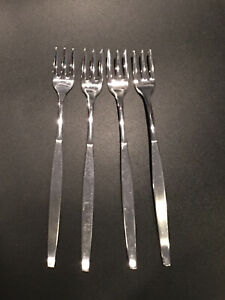 Oneida Community Stainless Frost Fire Cocktail Forks