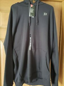 MENS 2XL BLACK. UNDER ARMOUR NWT HOODIE....BRAND NEW WITH TAGSMUST. LOOK $32.99