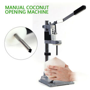 Manual Younger Coconut Opener Devices Coconut Drill Machine Stainless Steel New
