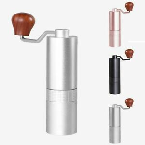 Coffee Grinder Burr Portable Manual Bean Burr Stainless Steel Mill Machine Tools