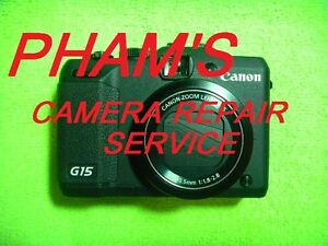 CAMERA REPAIR SERVICE FOR CANON 60D WITH 60 DAYS WARRANTY