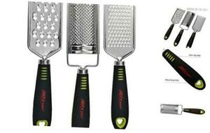 ALLTOP Graters for Cheese,Nutmeg,Potato,Ginger and Garlic,Hand-held Stainless St