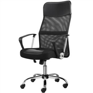 Home Office Desk Chairs High Back Ergonomic Executive Chair Swivel Task Chair $68.99
