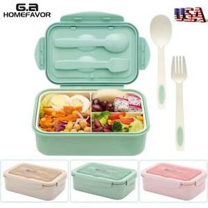 Healthy Lunch Box Portable Bento Box Microwave Food Storage Container BPA free