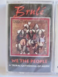 Brule We the People Tribal Gathering of Music Native American Cassette Tape NEW