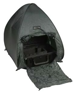 Small Utility Green Tent For Camping Supplies Hiking And Outdoor Activities