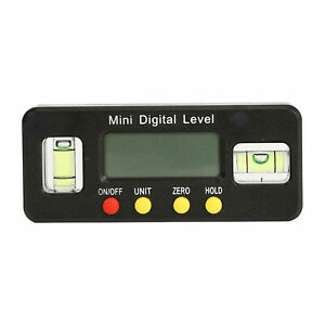 Digital Level Box Protractor Angle Finder Level Gauge Bevel Gauge Inclinometer C $17.55