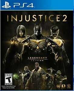 Injustice 2 Legendary Edition Playstation 4 PS4 Brand new $22.90
