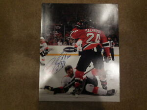 1 new jersey devils bryce salvador signed 16x20 photo $39.99
