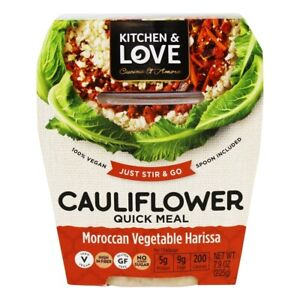 Kitchen amp; Love Cauliflower Quick Meal Indian Vegetable Curry