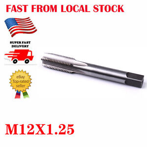 M12x 1.25 Metric Machine HSS Right Hand Thread Tap Threading Tool 12mm in US $10.99