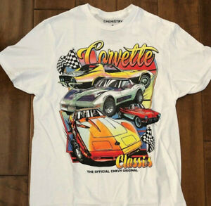 Corvette Classic Vintage Style shirt S 3XL T shirt USA muscle car GM Original