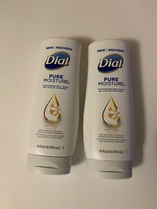 Lot of 2 Dial Pure Moisture Body Wash Neroli 14oz with Sunflower Oi
