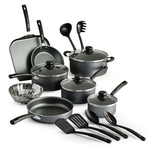 Tramontina Primaware 18 Piece Non stick Cookware Set Steel Gray Top Quality