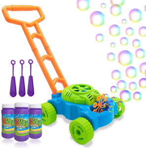 Bubble Mower for Toddlers Kids Machine Lawn Games Push Toys $34.99