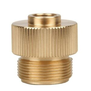 Outdoor Gas Tank Adapter Camping Propane Small Adapter Input for Output Stove