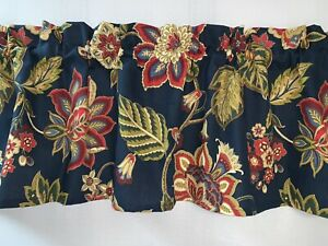 NEW Floral Flower Waverly Inspirations fabric Valance Curtain