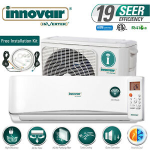 18000 BTU Mini Split Air Conditioner Heat Pump Ductless 230V INNOVAIR 19 SEER