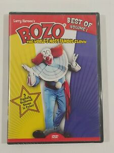 Bozo The Worlds Most Famous Clown Larry Harmon#x27;s Best of Volume 1 DVD 2008 New $11.65