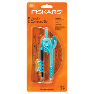 Fiskars Protractor and Compass 3 Pack $13.00