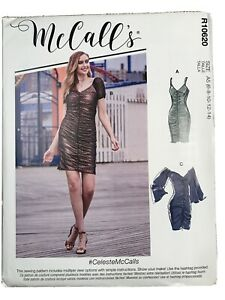 MCCALL#x27;S quot;Easyquot; Sewing Pattern R10620 Misses#x27; Dresses $8.00