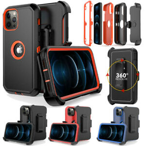 For iPhone 12 Pro Max Mini 11 XS XR Shockproof Case Cover Fits Otterbox Defender