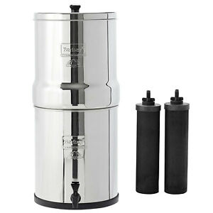 Big Berkey Water System With Black Filters and or Fluoride Filters 2.5 Gal