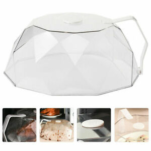 1pc Microwave Cover Durable Useful Food Cover Dust Proof Cover for Restaurant
