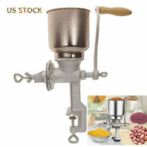 Manual Grinder Hand Cranking All Kind of Grains Oats Corn Wheat Coffee Nuts