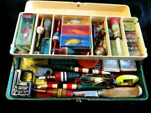 St. Croix fishing box. Loaded with collectibles.