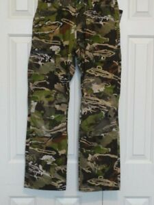 New Mens UNDER ARMOUR UA STORM FIELD OPS FOREST CAMO HUNTING PANTS 1313212 940