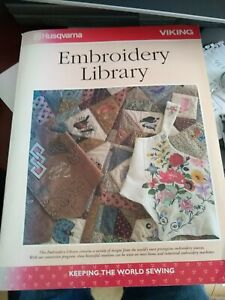 Embroidery Library Book for Husqvarna Viking machine $19.99