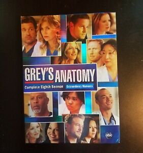 Greys Anatomy: The Complete Eighth Season DVD quot;Please Read quot;