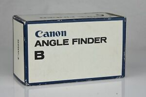 CANON ANGLE FINDER B WITH ADAPTER S BOXED 184511 $39.00
