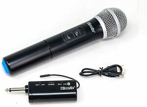 Hisonic HS426 Wireless Handheld Microphone with Rechargeable Bluetooth Receiver $24.99