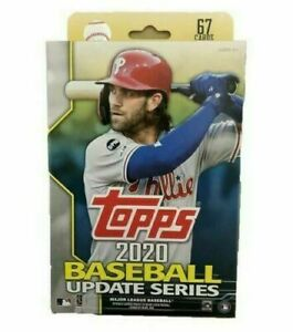2020 Topps Update Hanger Box 1 Pack 67 Cards: 6 Inserts Pre Sale $13.97