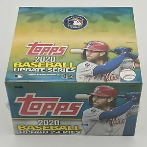 2020 Topps Update Retail Box 24 Packs 16 Cards Pre Sale $83.97