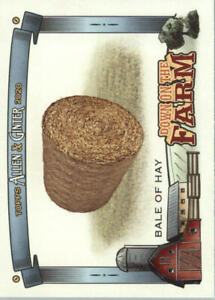 2020 Allen and Ginter Topps Baseball quot;Down on the Farmquot; Insert Cards $0.99