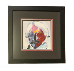 PETER MAX quot;ANDY WARHOLquot; SERIGRAPH ON PAPER HAND SIGNED amp; NUMBERED FRAMED COA $995.00