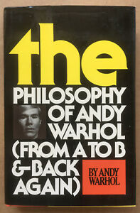 The Philosophy of Andy Warhol A To Z SIGNED 1st Ed by Andy Warhol 安迪 沃霍尔 亲笔 签名书 $99.00
