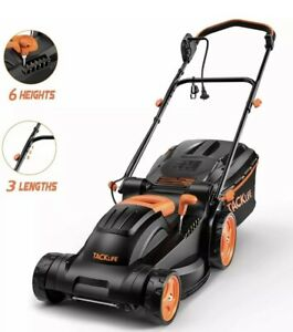 TACKLIFE Electric Lawn Mower 14 Inch 10 Amp Lawn Mower 6 Adjustable Mowing H $129.00