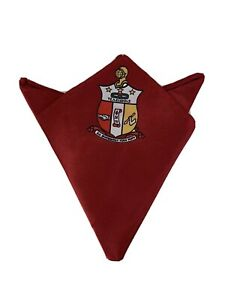 Pocket Square For Kappa Alpha Psi New $20.00