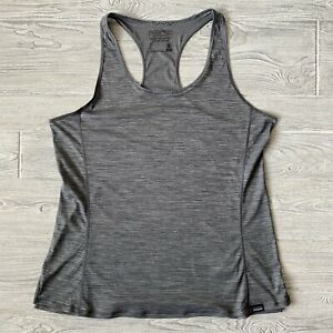 Patagonia capilene Cool lightweight fast dry Tank Top Shirt Womens Size Large $20.84