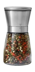 Pepper Grinder or Salt Shaker for Professional Chef Best Spice Mill with Br...
