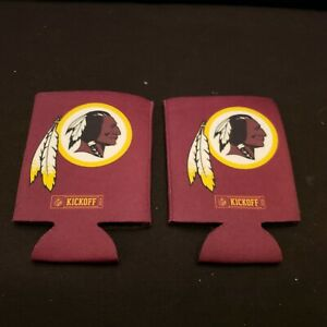 2 New NFL WASHINGTON REDSKINS FOOTBALL Limited Edition BUD LIGHT Koozie Hugger $9.00