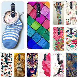 For Nokia 2 3 2.1 3.1 5.1 2.2 3.2 6.2 Slim Painted Soft Silicone TPU Case Cover $3.29