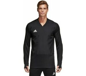 Adidas Men#x27;s Condivo 18 Player Focus Football Training Top Black CG0380 $45.00