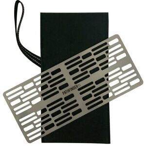 Titanium Barbecue Plate Outdoor Camping Lightweight Portable Picnic BBQ Grill