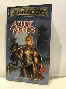 Forgotten Realms The Finder#x27;s Stone: Azure Bonds by Jeff Grubb paperback $10.50